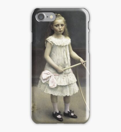 Rapael Collin - Portrait of the young Elise  iPhone Case/Skin