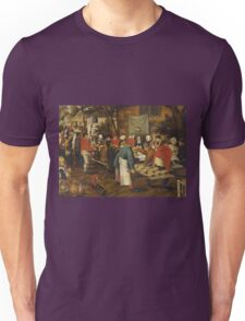Pieter Brueghel the Younger - Peasant Wedding Feast  Unisex T-Shirt