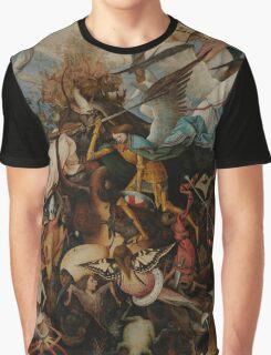 Pieter Bruegel the Elder - The Fall of the Rebel Angels Graphic T-Shirt