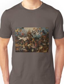 Pieter Bruegel the Elder - The Fall of the Rebel Angels Unisex T-Shirt