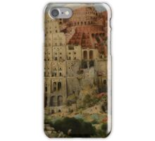 Pieter Bruegel the Elder  - The Tower of Babel  iPhone Case/Skin