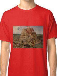 Pieter Bruegel the Elder  - The Tower of Babel  Classic T-Shirt