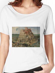 Pieter Bruegel the Elder  - The Tower of Babel  Women's Relaxed Fit T-Shirt
