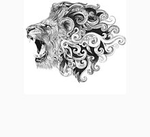 Head grinning lion with a mane Unisex T-Shirt