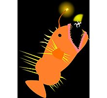 Space Anglerfish Photographic Print