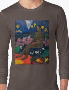 Paul Gauguin - The Seed of the Areoi  Long Sleeve T-Shirt