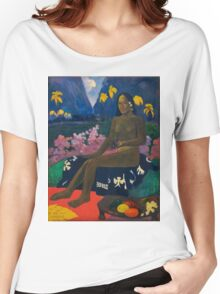 Paul Gauguin - The Seed of the Areoi  Women's Relaxed Fit T-Shirt