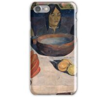 Paul Gauguin - The Meal  iPhone Case/Skin
