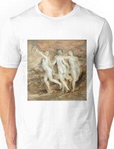 Peter Paul Rubens - The Three Graces Unisex T-Shirt