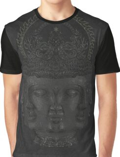 Faces of Buddha Graphic T-Shirt