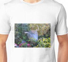 Bull garden ornament. Unisex T-Shirt