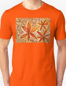 Wishing you a Merry Christmas with Poinsettias Unisex T-Shirt