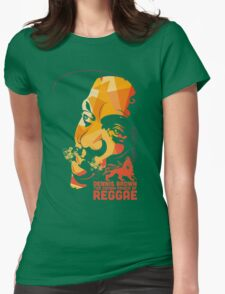 Dennis Brown The Crown Prince Of Reggae Womens Fitted T-Shirt