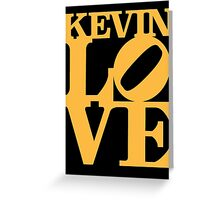 Kevin Love Sculpture Greeting Card