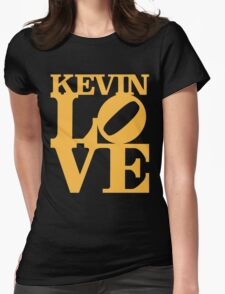 Kevin Love Sculpture Womens Fitted T-Shirt