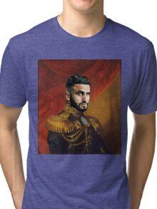 Riyad Mahrez - the desert fox Tri-blend T-Shirt