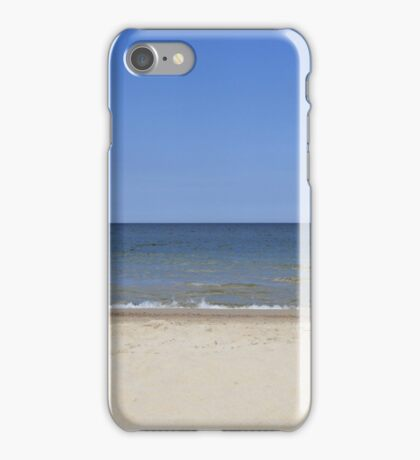 tranquil and serene Baltic sea  iPhone Case/Skin