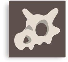Pokemon, Cubone skull Canvas Print