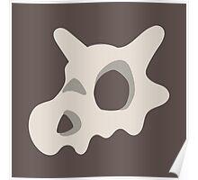 Pokemon, Cubone skull Poster