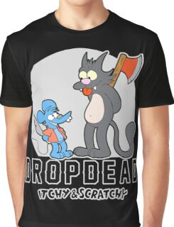 Dropdead : Itchy And Scratchy Graphic T-Shirt