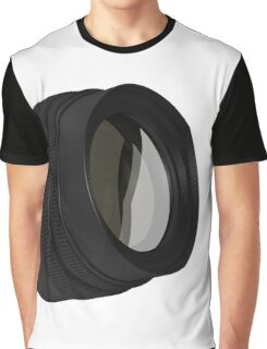 lens for the Camera isolated  Graphic T-Shirt