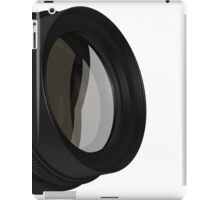 lens for the Camera isolated  iPad Case/Skin
