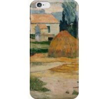 Paul Gauguin - Landscape near Arles . Provence iPhone Case/Skin