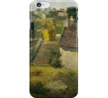 Paul Gauguin - Houses at Vaugirard .Landscape iPhone Case/Skin