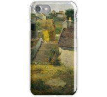 Paul Gauguin - Houses at Vaugirard .Landscape iPhone Case/Skin