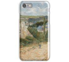 Paul Gauguin - Entrance to the Village of Osny . French   Landscape iPhone Case/Skin
