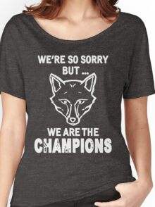 Leicester champions Women's Relaxed Fit T-Shirt