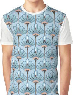 Seamless Flower  Buttercup  Pattern. Summer background garden. Art deco style Graphic T-Shirt
