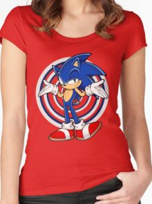 Sonic : Who Else ? Women's Fitted Scoop T-Shirt