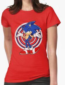 Sonic : Who Else ? Womens Fitted T-Shirt