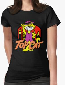 Top Cat Womens Fitted T-Shirt