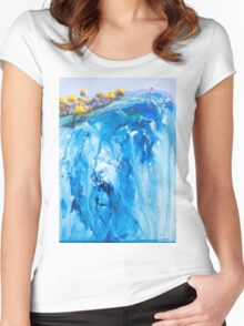 The beauty all around us Women's Fitted Scoop T-Shirt
