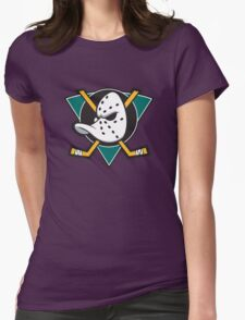 The Mighty Ducks Original Womens Fitted T-Shirt