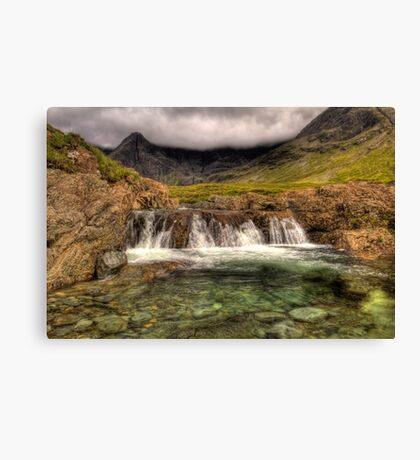 Isle of Skye, The Fairy Pools Canvas Print