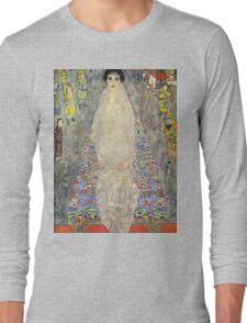 Gustav Klimt  - Portrait of Baroness Elisabeth Bachofen Long Sleeve T-Shirt