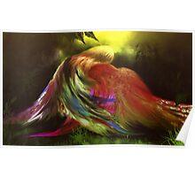 Hug Of Birds Poster