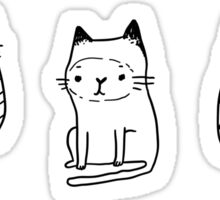 Little cats Sticker