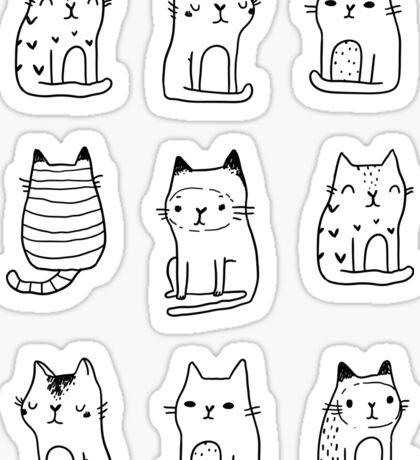 Little cats Sticker
