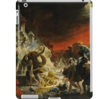 Karl Bryullov Bryullo - The Last Day of Pompeii 1830 - 1833 iPad Case/Skin
