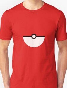 Flat half pokeball Unisex T-Shirt