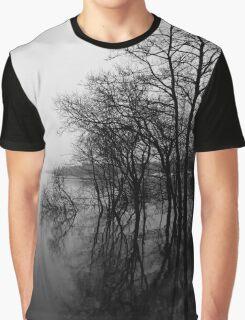 Loch Lomond Scotland Mist  Graphic T-Shirt