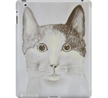 Close-up of a Cat iPad Case/Skin