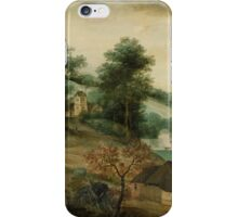 Jacob Grimmer - Landscape with Cottages  iPhone Case/Skin