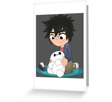CHIBI BAY Greeting Card