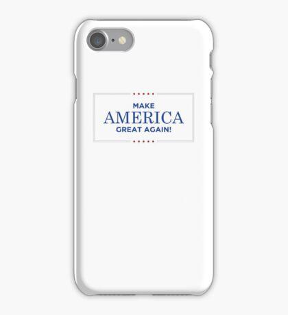Donald Trump - Make America Great Again iPhone Case/Skin