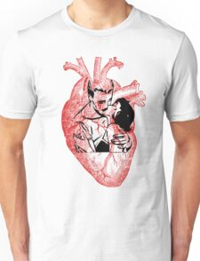 A Hearty Kiss Unisex T-Shirt